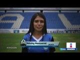 Las cinco finalistas de D-But el primer reality de futbol en México   Noticias con Yuriria Sierra