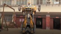 Chinese toy designer makes real-life Hornet transformer