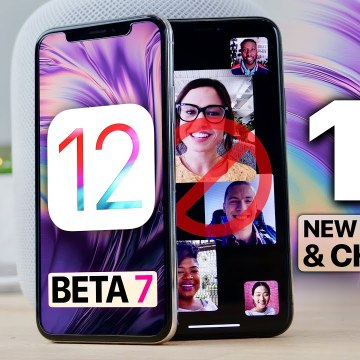 iOS 12 Beta 7- 15 Features/Changes - RIP Group FaceTime