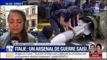 Italie: un missile et plusieurs autres armes de guerre saisies chez des sympathisants d'extrême-droite