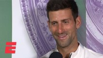 Novak Djokovic on dramatic win vs Roger Federer: 'This match I'll remember forever' - 2019 Wimbledon