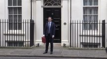 Osborne leaves downing street