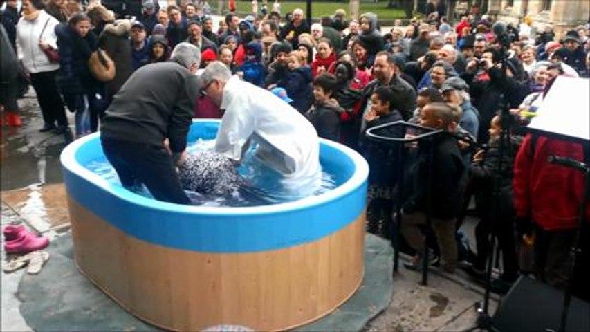 Open Air Baptism
