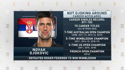 The Jim Rome Show: Novak Djokovic wins Wimbledon title