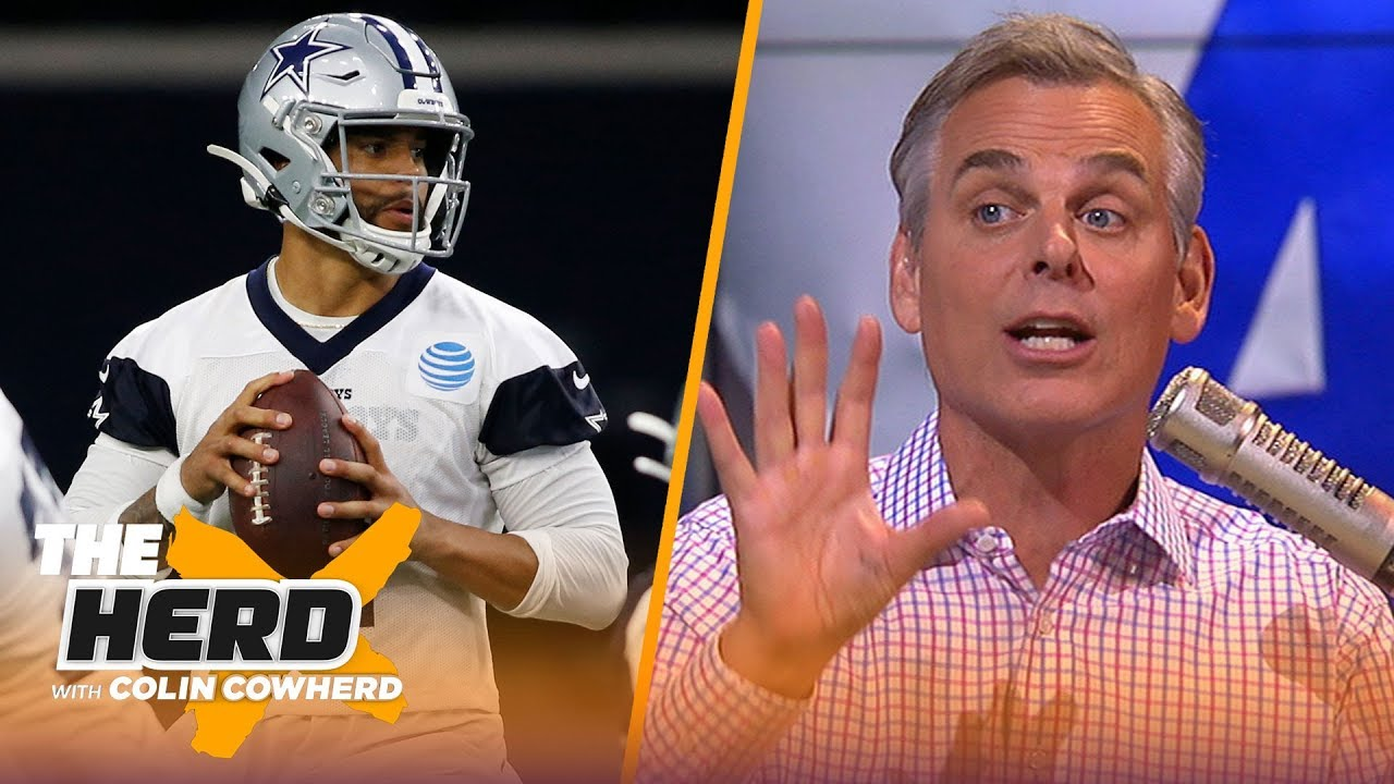 Colin lists his Top 5 NFL teams of all time, says the Cowboys 'owe' Dak a contract – NFL –