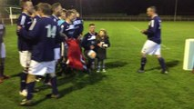 West Pier lift the North Riding County FA Saturday Challenge Cup