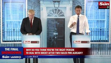 Johnson and Hunt clash in final leadership debate