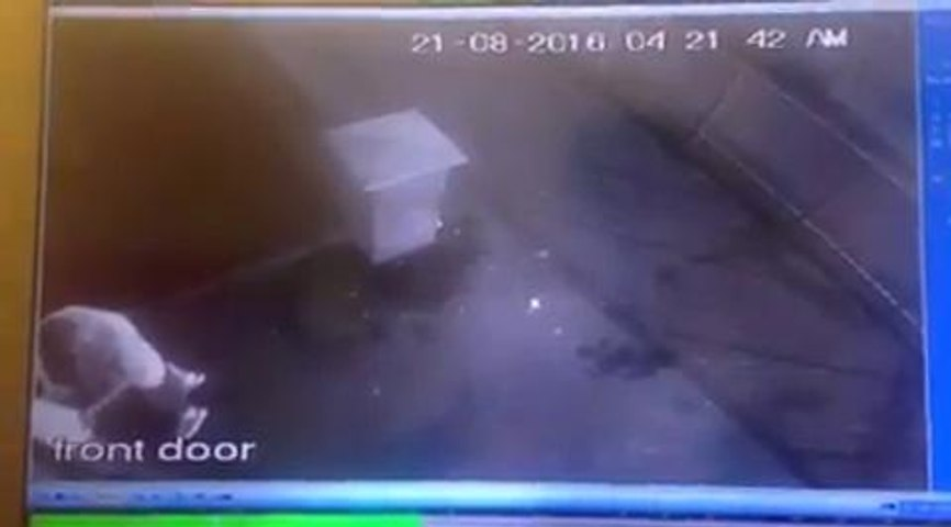 Disgist after defibrillator vandalised