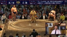 Ichinojo vs Hakuho - Nagoya 2019, Makuuchi - Day 9