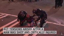 VIDEO - Protester fights for life as Charlotte put under state of emergency
