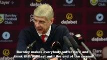 Arsene Wenger praises Clarets