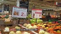 Consommation : à cause de la canicule, le prix du melon s'effondre