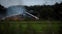 Major fire in East Winch