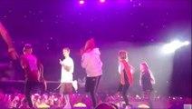Burnley schoolgirl dances with Justin Bieber