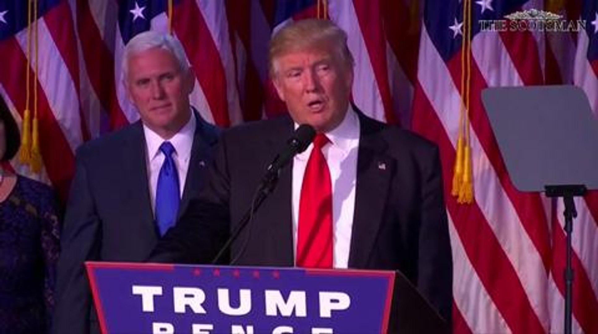 Donald Trump acceptance speech