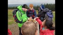 Group learn basic survival skills