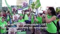 La communauté LGBT de Tel-Aviv se mobilise contre les remarques d'un ministre