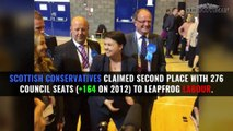 Scottish Local Council Election results