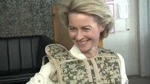 Ursula von der Leyen: notte prima degli esami Ue