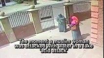 Fake acid attack