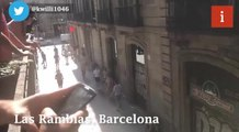 Barcelona - footage emerges from the scene