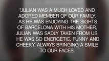 Family of boy killed in Barcelona attack say they were blessed to have him