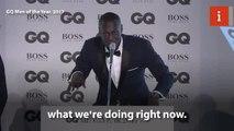 Stormzy calls Theresa May a 'paigon' at GQ Awards