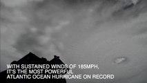 ISS films Hurricane Irma