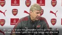 Arsene Wenger denies making an example of Alexis Sanchez