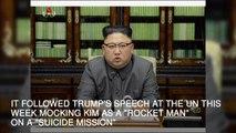 Kim Jong Un warns Donald Trump he will 'pay dearly'