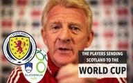 Scotland's star players v Slovenia