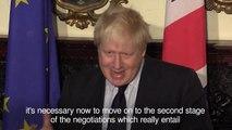 Boris Johnson told Ireland INNL
