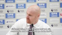 Dyche happy with performance but frustrated by decision