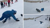 Viral Ski Slope Fail