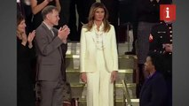 Melania Trump arrives at State of Union address