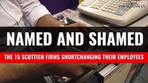 Scot Companies underpaying staff