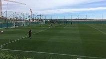 NUFC training in Spain