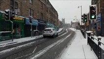 Snow in Farsley, West Yorkshire
