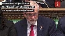 Corbyn - antisemitism row