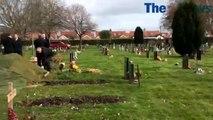 Funeral of naval veteran Raymond 'Danny' Daniels