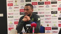Kemar Roofe pre-Aston Villa press conference