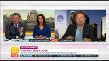 Piers Morgan criticises odd Catholic Met Gala 2018 theme