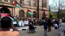 VIDEO: Solidarity with Palestine protest