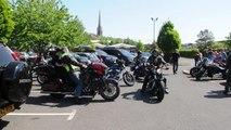 Biker tribute to Saffie sets off for Manchester