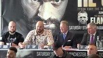 Tyson Fury talks Wilder and return