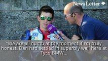 TT 2018_ Tyco BMW Team Manager Philip Neill 'numb' After Dan Kneen's Tragic Death - HIRES