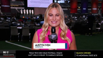Big 12 Media Days: Texas Tech