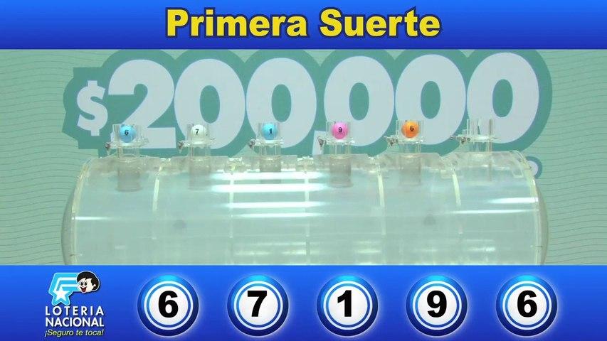 Loteria Nacional Sorteo 6280 (15 Julio 2019)