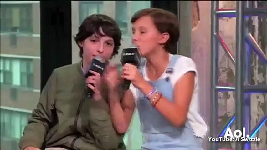 Millie bobby brown and finn wolfhard being cute together for 4 minutes straight (Part 2)
