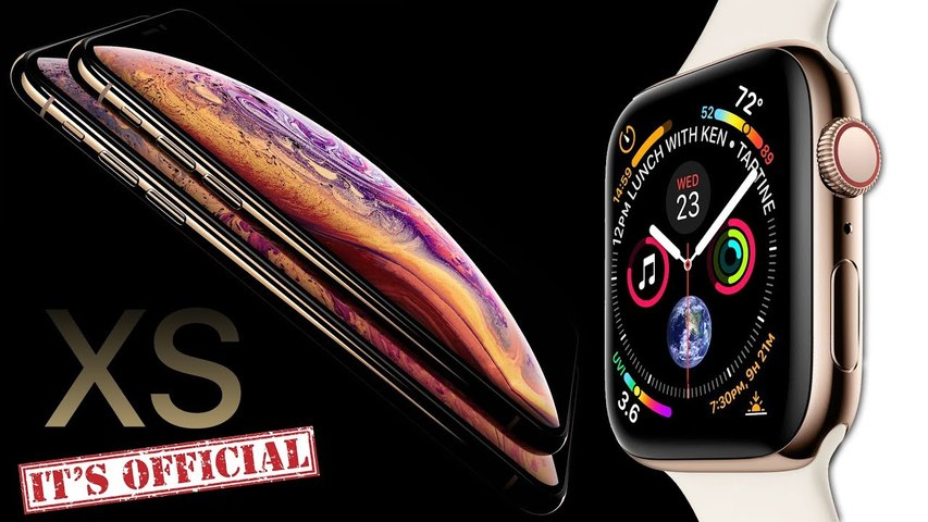 iPhone XS - Apple Watch 4 OFFICIAL LEAK BY APPLE-